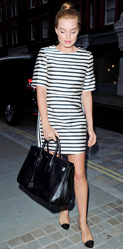 Margot Robbie in Topshop