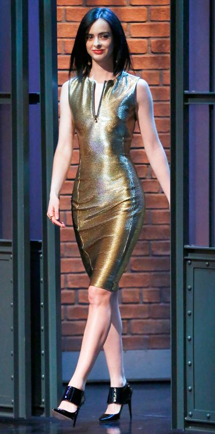 Krysten Ritter in Versace