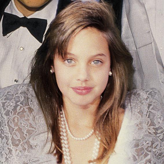 Angelina Jolie transformation