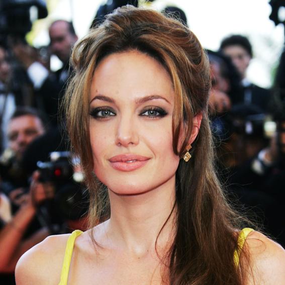 Angelina Jolie, transformation, celebrity hair, celebrity makeup