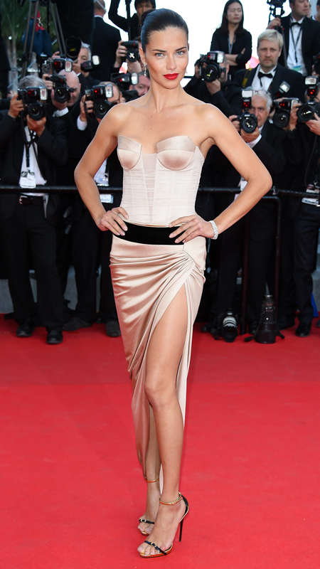 "Adriana Lima attends  ""The Homesman"" Premiere at the 67th Annual Cannes Film Festival"