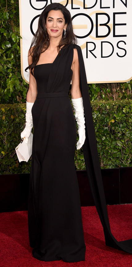 Amal Clooney in Dior