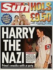 Harry's Nazi Gaffe Stirs More Outrage | Prince Harry