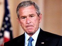 George Bush takes blame for Hurricane Katrina response, Sept 14 2005