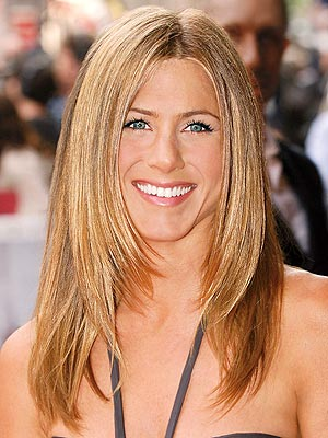 Beautiful Celebrity Jennifer Aniston Sedu Hairstyles 2010