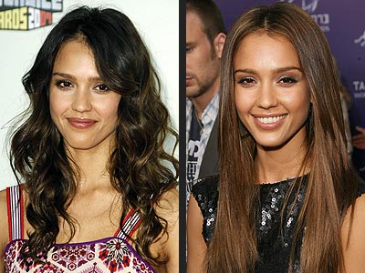 Jessica Alba beautiful   Hairstyle