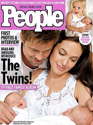 Meet Vivienne & Knox Jolie-Pitt | Angelina Jolie, Brad Pitt