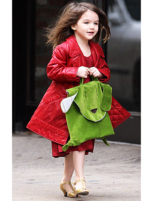 EMPIRE STATE photo | Katie Holmes, Suri Cruise, Tom Cruise