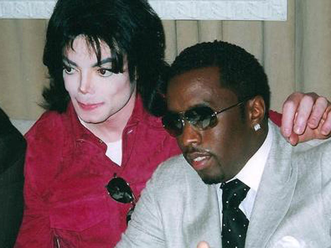 DIDDY photo | Michael Jackson, Sean P. Diddy Combs