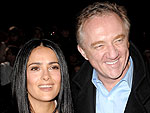 Salma Hayek's Wedding Reception an All-Star Song Fest