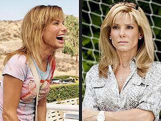 Sandra Bullock Picks Up Her 2 Razzies in Person