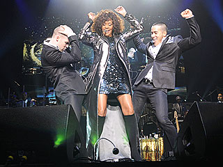 PHOTO: Whitney Houston Dances in Face of Illness Report | Whitney Houston