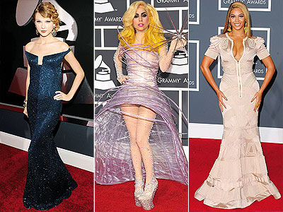 Grammy Awards Style Stars! | Beyonce Knowles, Lady Gaga, Taylor Swift