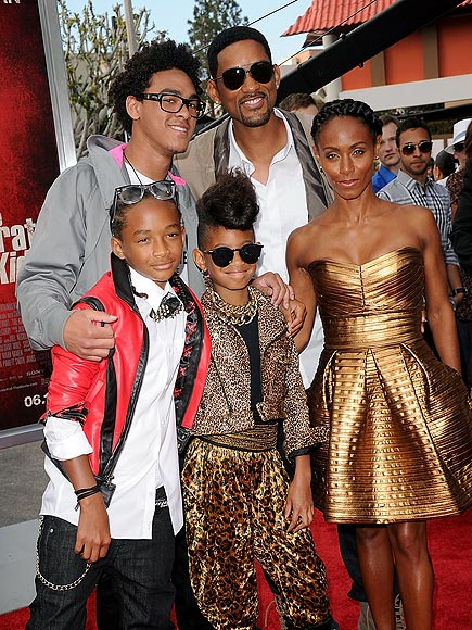 FAME FACTOR photo | Jada Pinkett Smith, Jaden Smith, Will Smith, Willow Smith