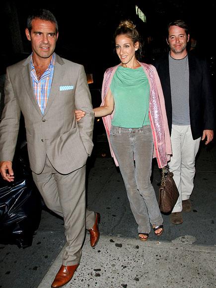 DINNER DATES photo | Andy Cohen, Matthew Broderick, Sarah Jessica Parker