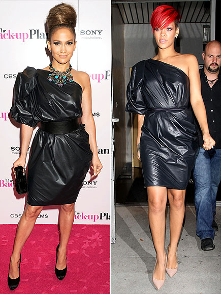 JENNIFER VS. RIHANNA photo | Jennifer Lopez, Rihanna