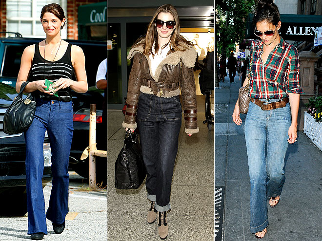 HIGH-WAISTED JEANS photo | Anne Hathaway, Ashley Greene, Katie Holmes