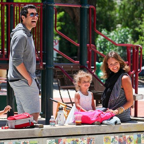 JESSICA & HONOR  photo | Cash Warren, Honor Warren, Jessica Alba
