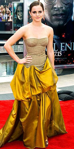 GOLD-DUST WOMAN photo | Emma Watson