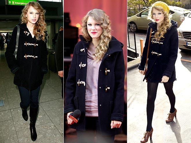 TOPSHOP COAT photo | Taylor Swift