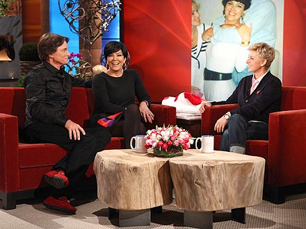 Kim Kardashian's 'Next Guy's Got to Go Through Me,' Says Bruce Jenner | Bruce Jenner, Ellen DeGeneres, Kris Jenner