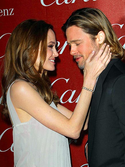 BRAD & ANGELINA photo | Angelina Jolie