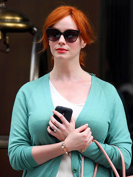 MINTY FRESH  photo | Christina Hendricks