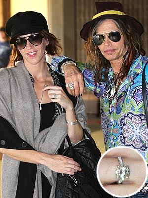 Steven Tyler Engagement Ring