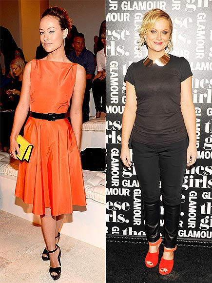 ORANGE AND BLACK photo | Olivia Wilde, Rose Byrne