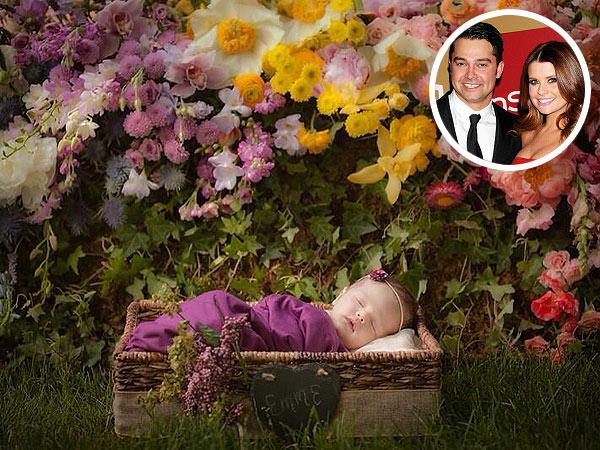 Nick Swisher Joanna Garcia Swisher Daughter Emerson First Photo