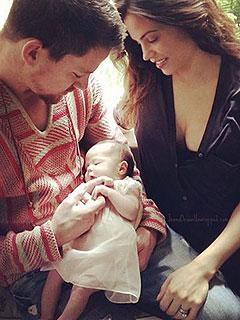 Channing Tatum Jenna Dewan-Tatum Daughter Everly First Photo