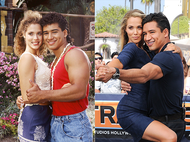 ELIZABETH & MARIO photo | Elizabeth Berkley, Mario Lopez