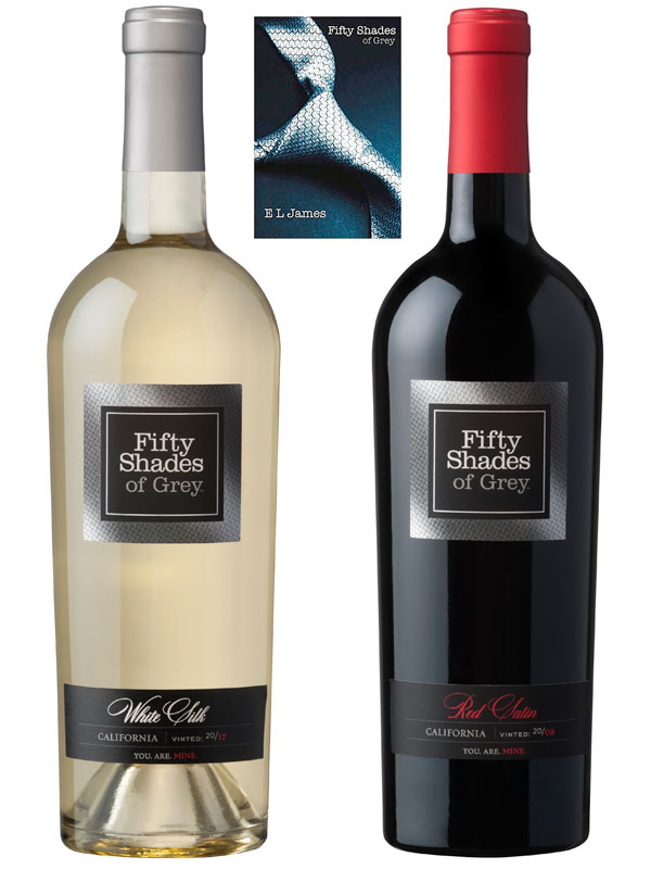 E.L. James has launched a red and white wine inspired by her bestselling Fifty Shades of Grey trilogy - peoplewhowrite