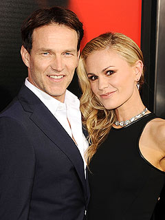 Anna Paquin Stephen Moyer Name Twins Charlie and Poppy