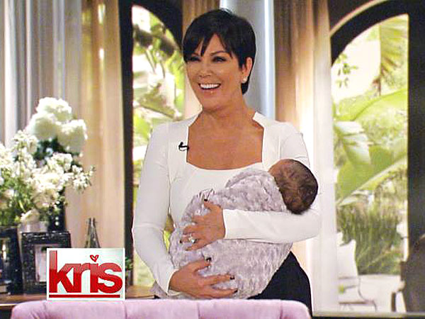 Kris Jenner Debut North First Photo