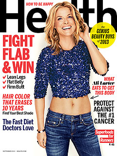 Ali Larter Health Magazine cover