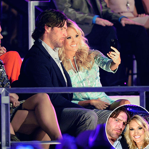 CANDID CAMERA photo | Carrie Underwood, Mike Fisher