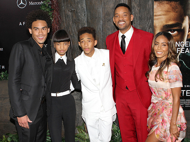 PARTY OF FIVE photo | Jada Pinkett Smith, Jaden Smith, Will Smith, Willow Smith