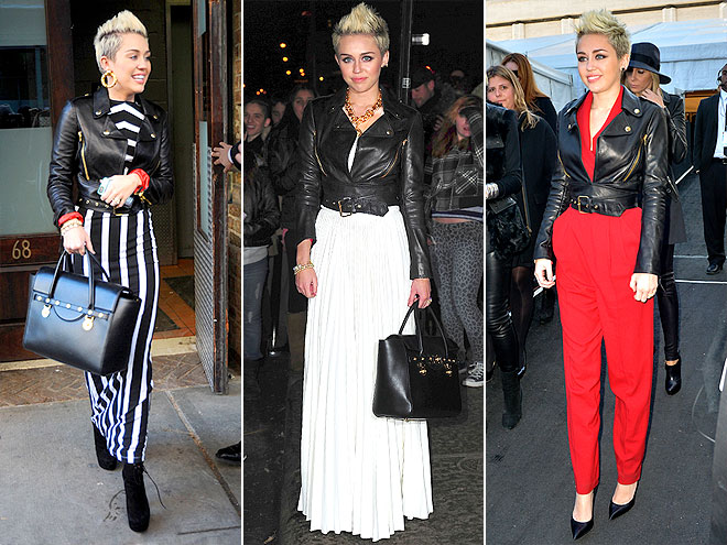 MOSCHINO JACKET photo | Miley Cyrus