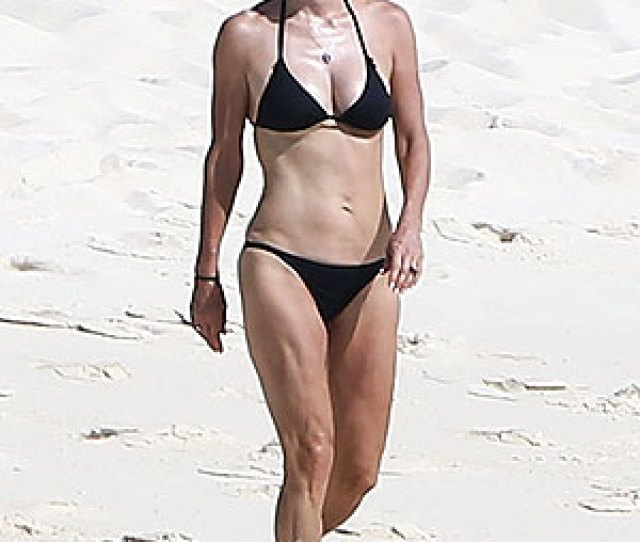 The Actress Showed Off Her Incredible Figure In A Bikini