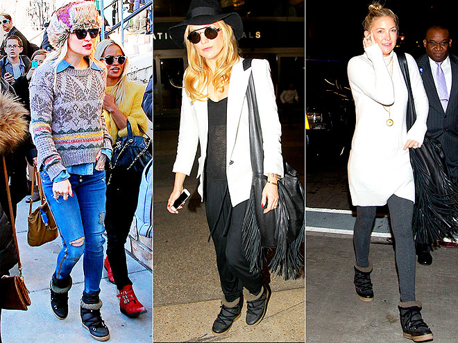 ISABEL MARANT BOOTS  photo | Kate Hudson