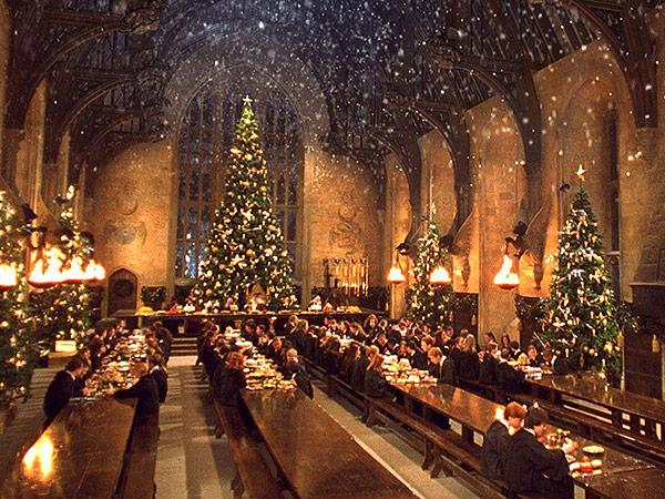Image result for hogwarts in winter
