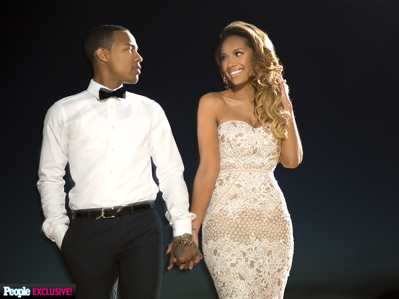 Check Out CSI: Cyber's Shad 'Bow Wow' Moss and Erica Mena's Sexy Engagement Photos| Couples, Engagements, Bow Wow