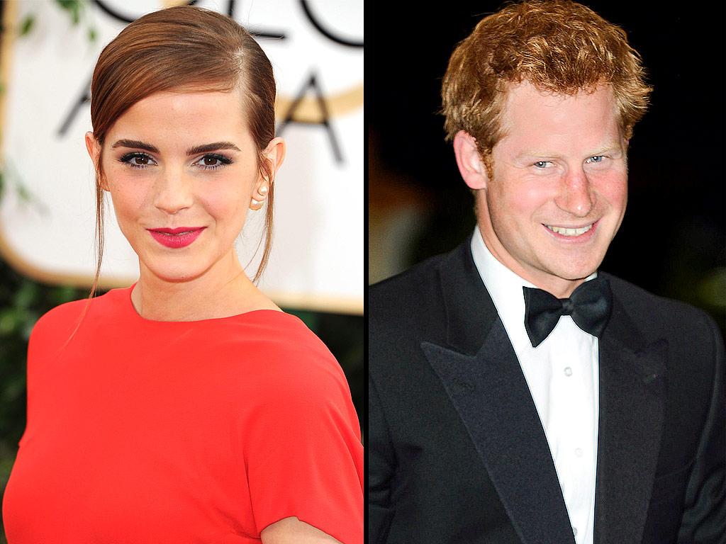 Emma Watson y el príncipe Harry