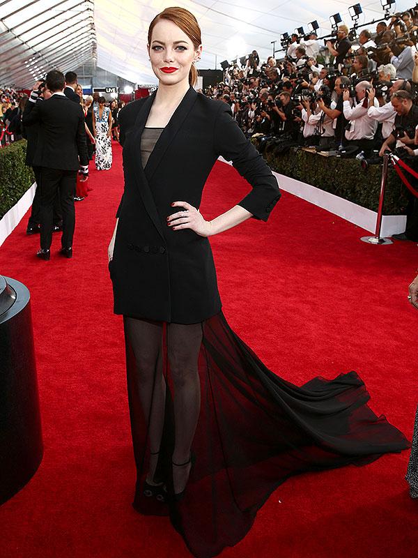 Emma Stones SAG Awards dress