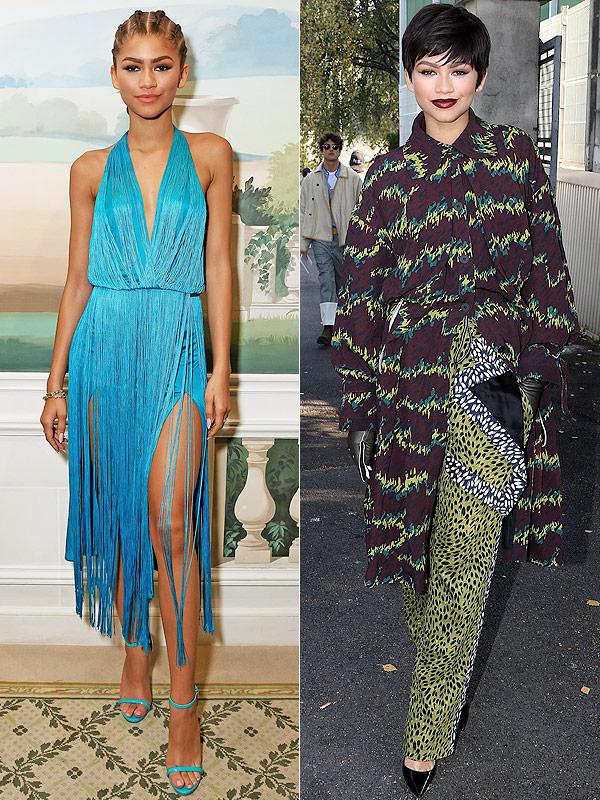 Zendaya Paris Fashion Week style