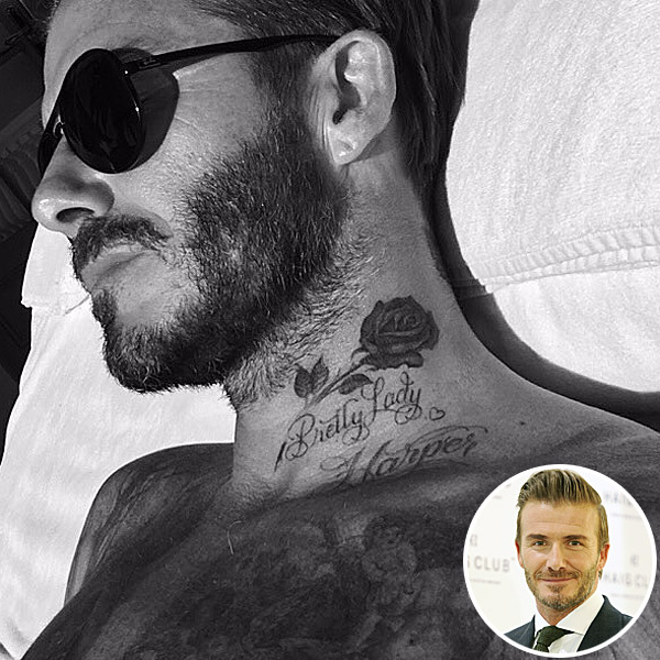 Fresh news in blog the meaning behind david beckham tattoos male