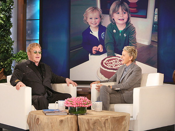 Elton John Ellen DeGeneres