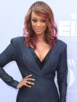 Tyra Banks welcomes son york erik asla