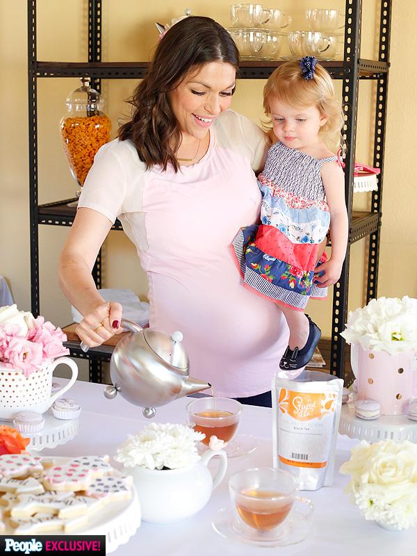 DeAnna Pappas pregnant tea party
